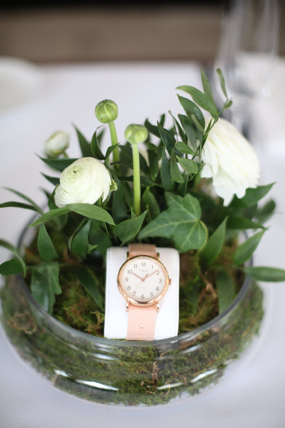 Timex Watch Floral Product Display- B Floral