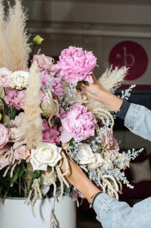 Arranging - B floral