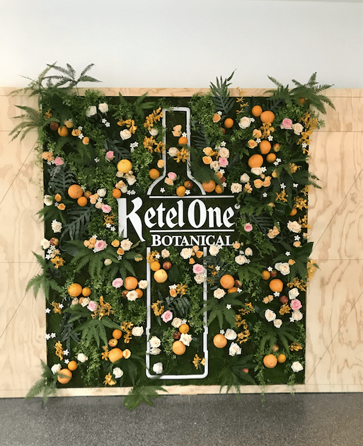 Ketel One Botanical Wall- B Floral