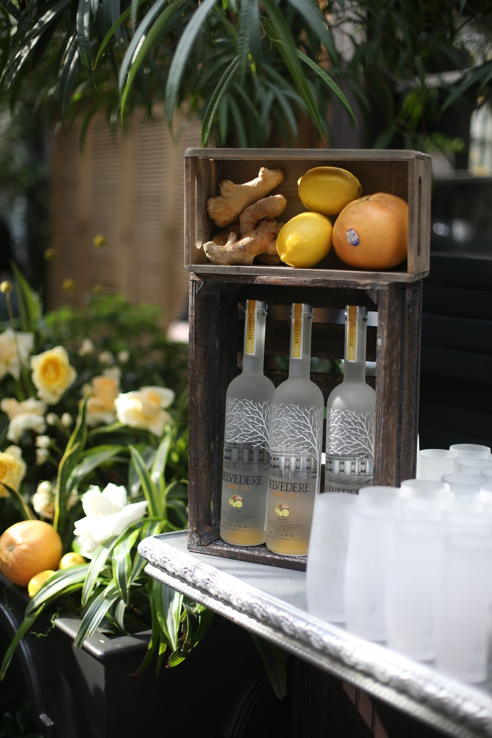 Belvedere Ginger Zest Display- B Floral
