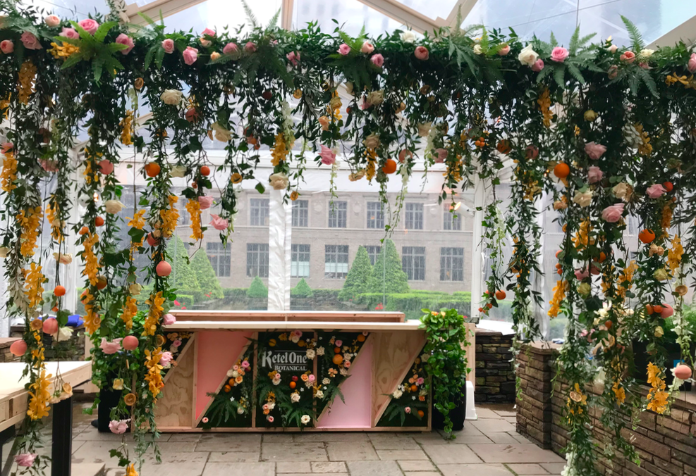 Floral Garland for Ketel One Botanical Launch- B Floral