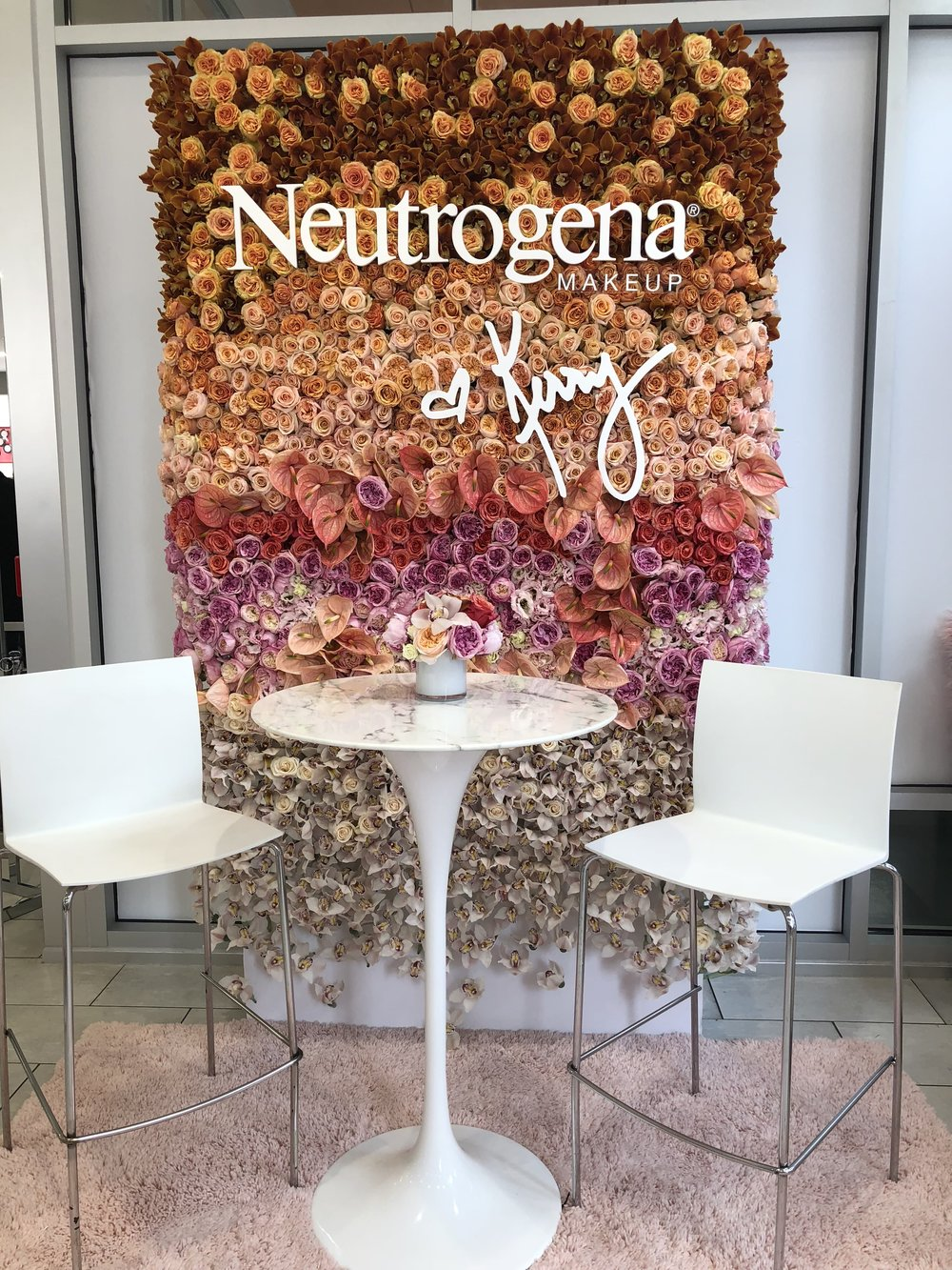 Neutrogena x Kerry Flower Wall- B Floral