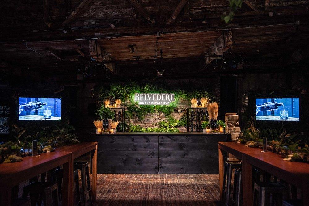 Belvedere Vodka Single Rye Estate Lounge- B Floral