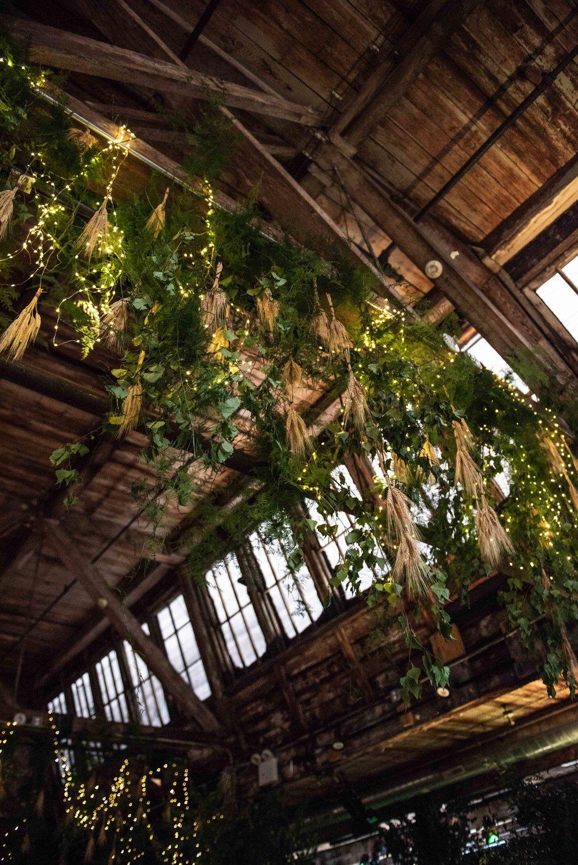 Belvedere Vodka Single Rye Estate Hanging Install- B Floral