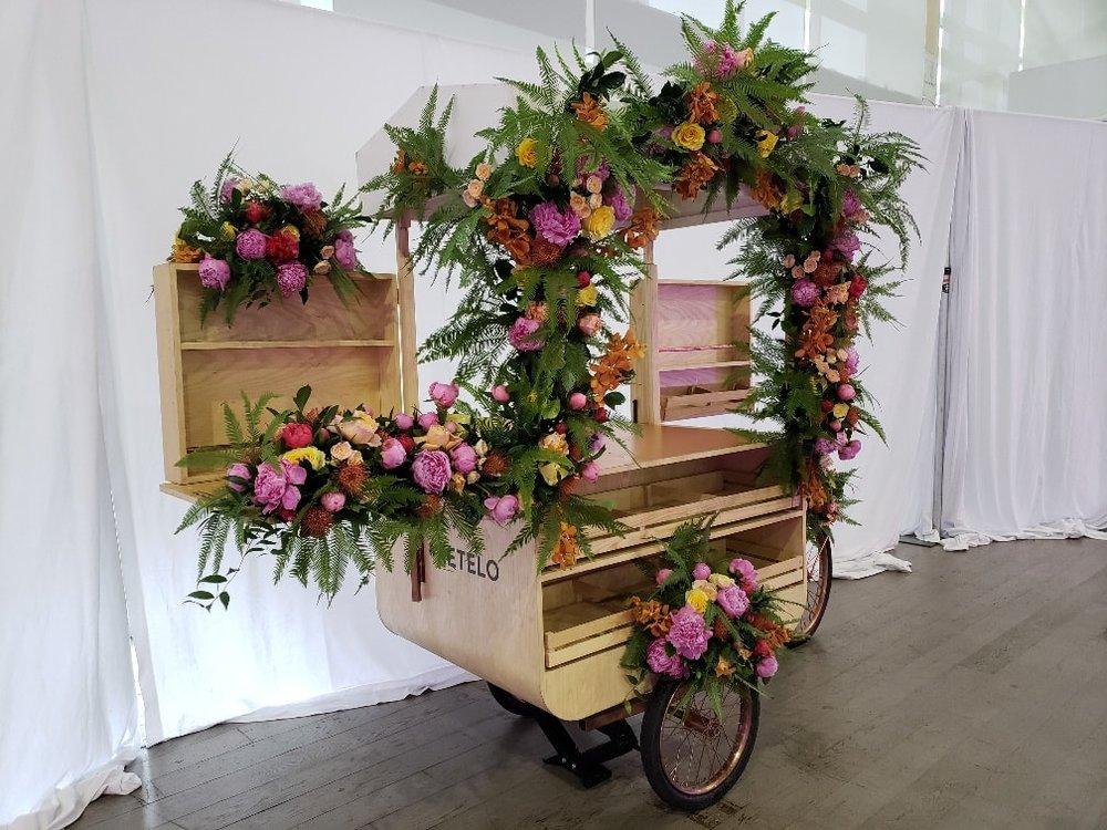 Ketel One Botanical Cart Installation- B Floral