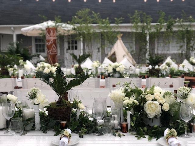 Hamptons Magazine x Nikki Beach Pop-Up Launch- B Floral