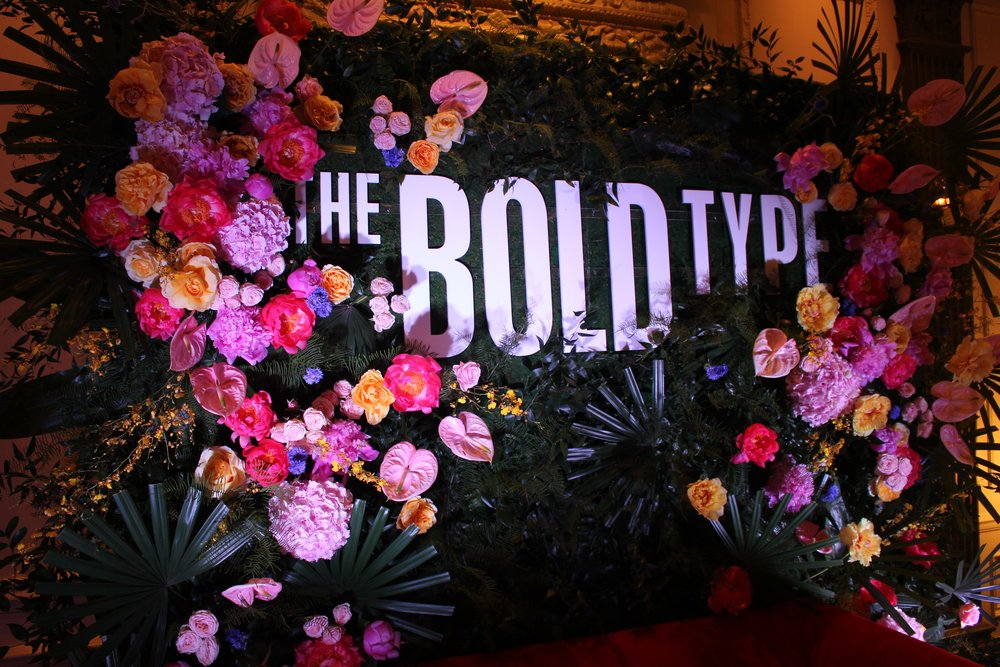 Cashmere Agency Photo Moment for The Bold Type Season 2 Premiere- B Floral