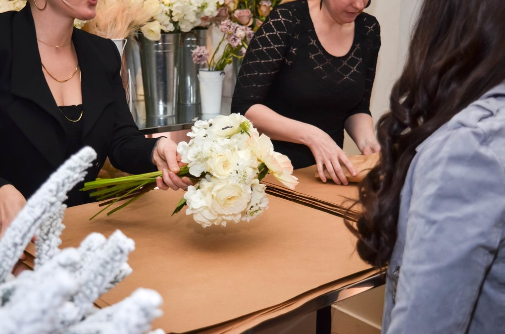 Creating A Customized Bouquet- B Floral