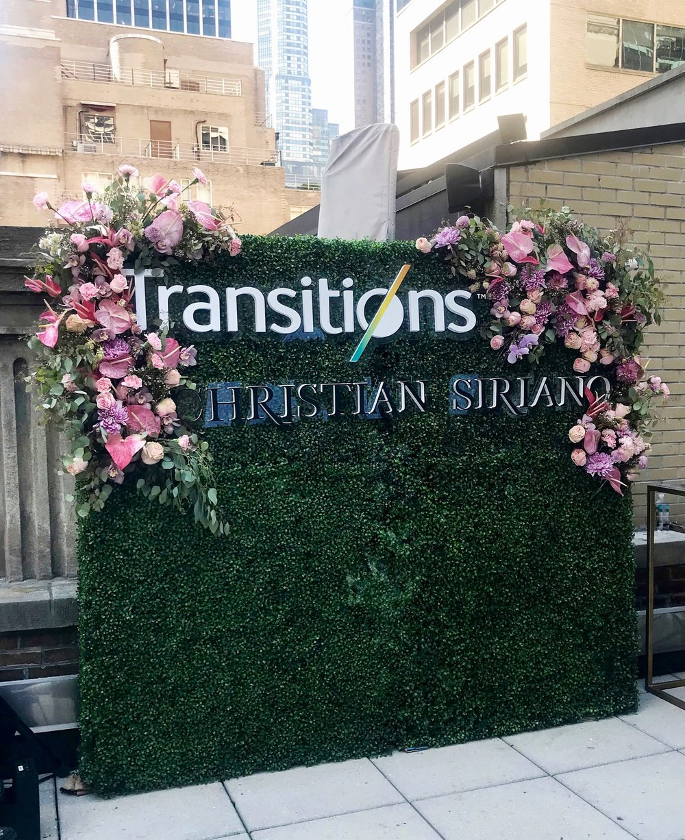 Christian Siriano x Transitions Lenses Flower Wall- B Floral