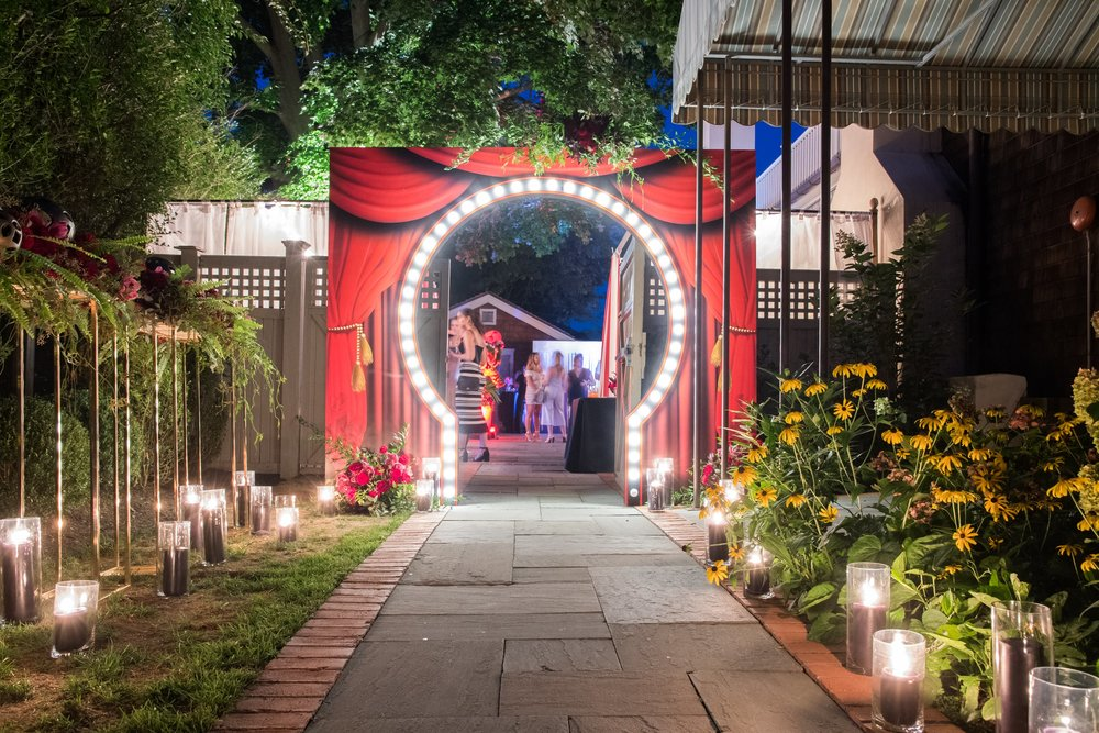 Circus Themed Event Entrance- B Floral