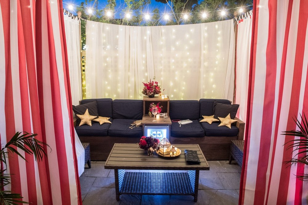 Circus Themed Event Lounge- B Floral