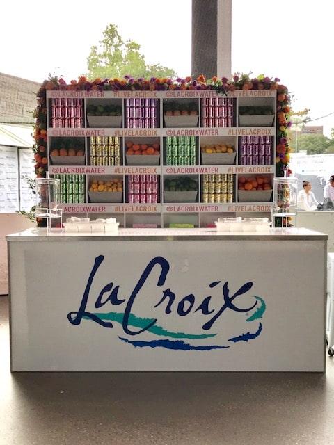 LaCroix Branded Back Bar- B Floral
