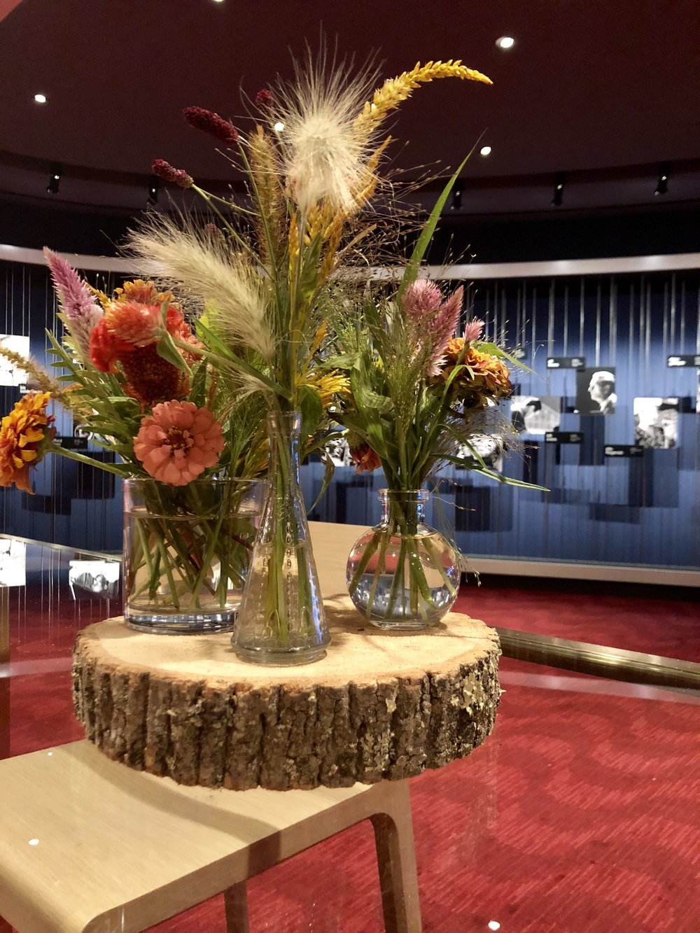 Rustic Arrangements for Documentary Premiere-  B Floral