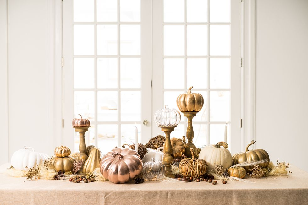 B Floral NYC Pumpkin Table Scape