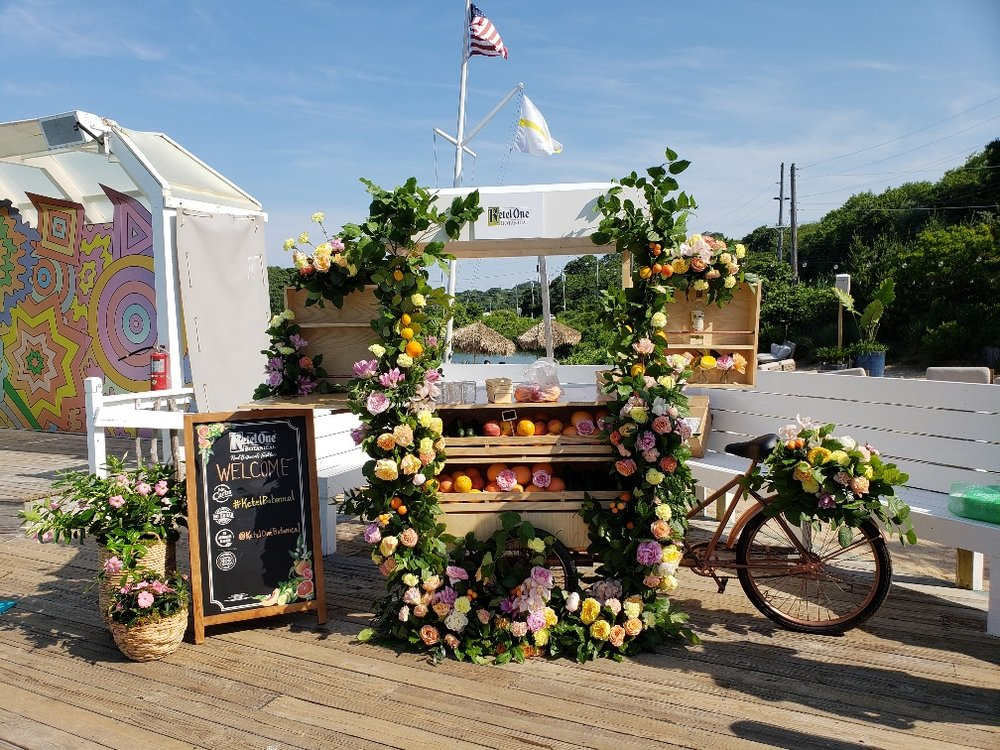 Ketel One Botanical Floral Cart- B Floral