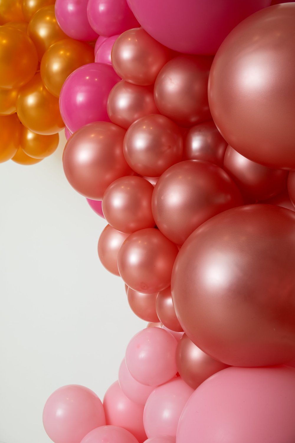 Balloon Installation Close-up- B Floral