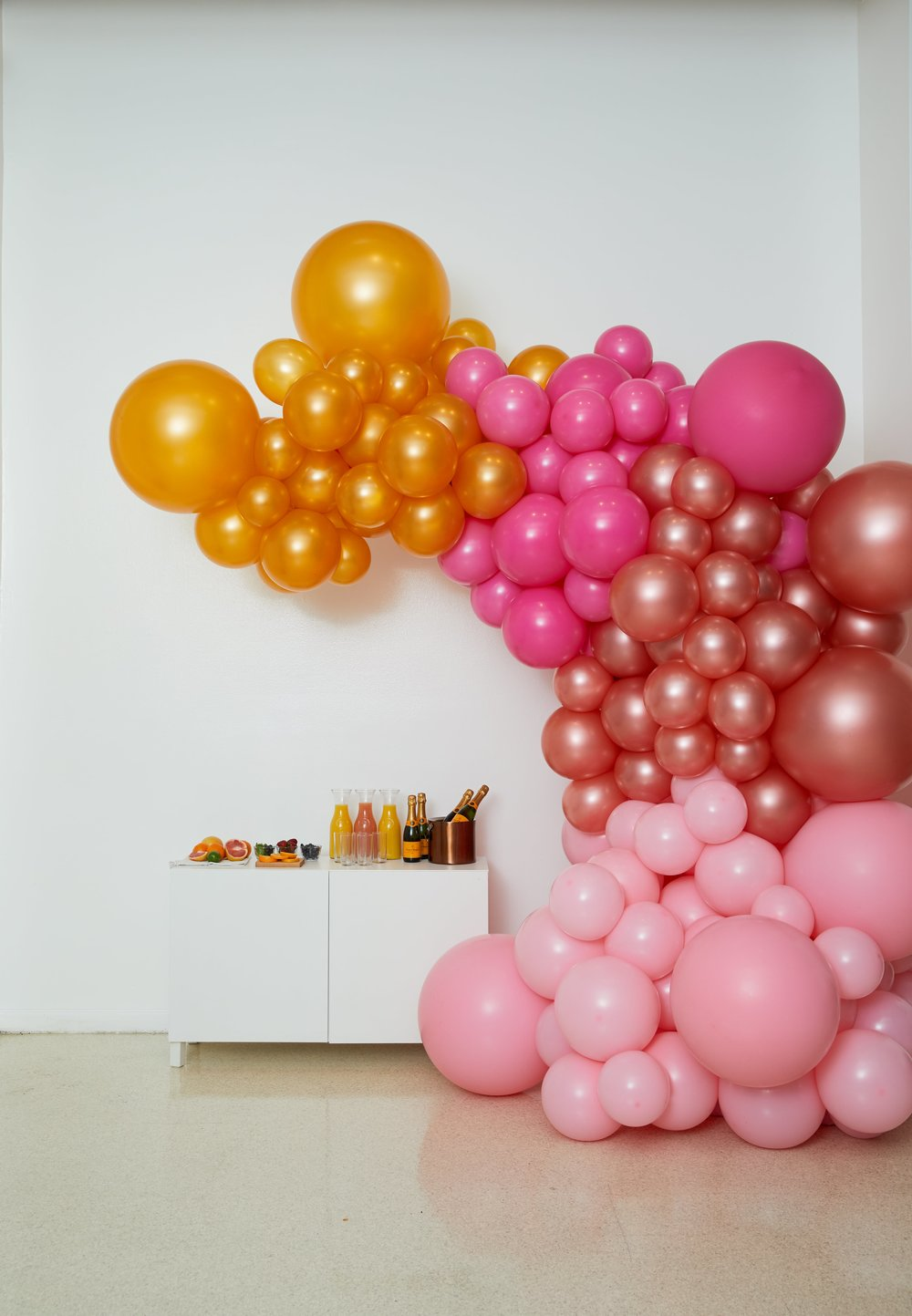 Freestanding Balloon Installation- B Floral