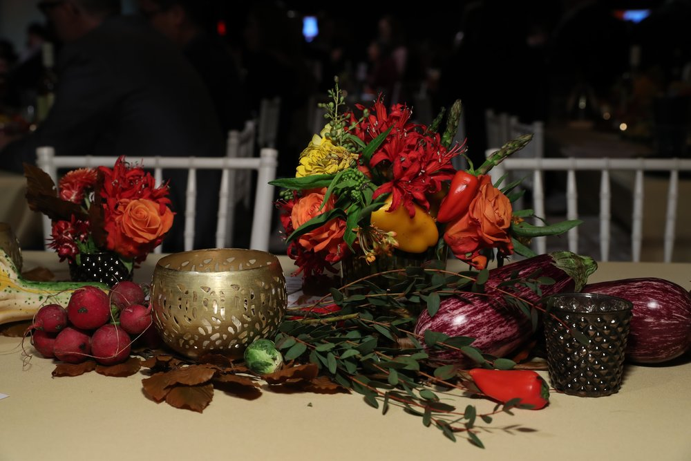 Vegetable-Filled Arrangements- B Floral