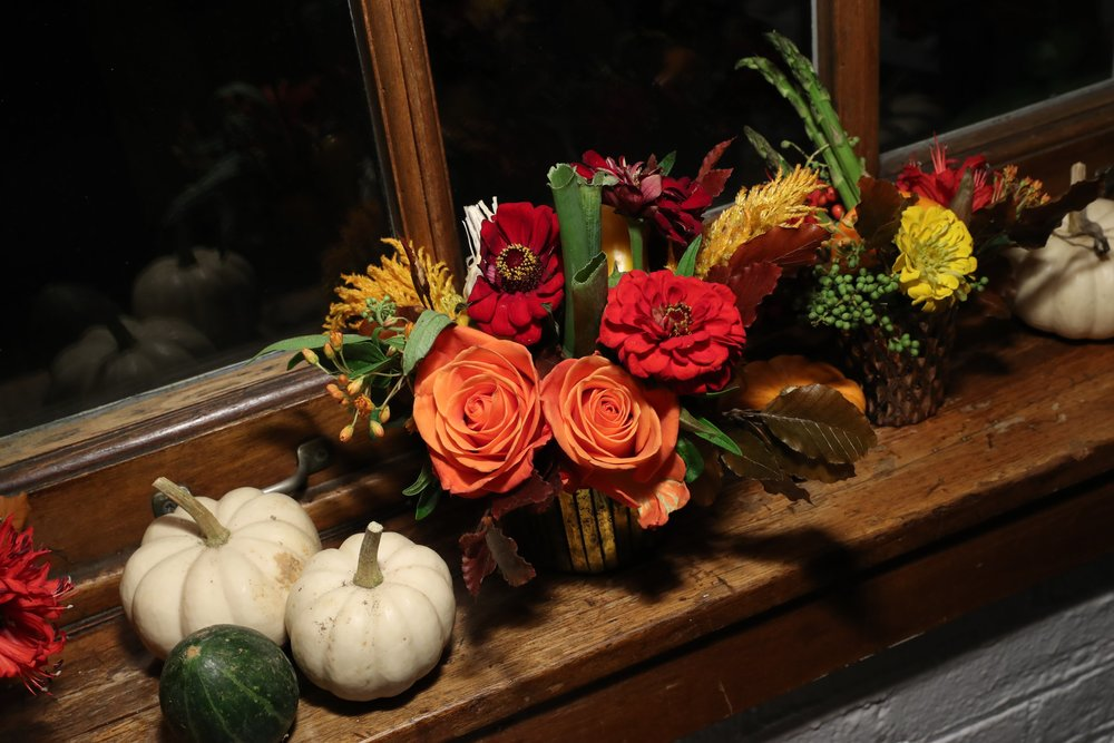 Fall Decor For Change For Kids- B Floral
