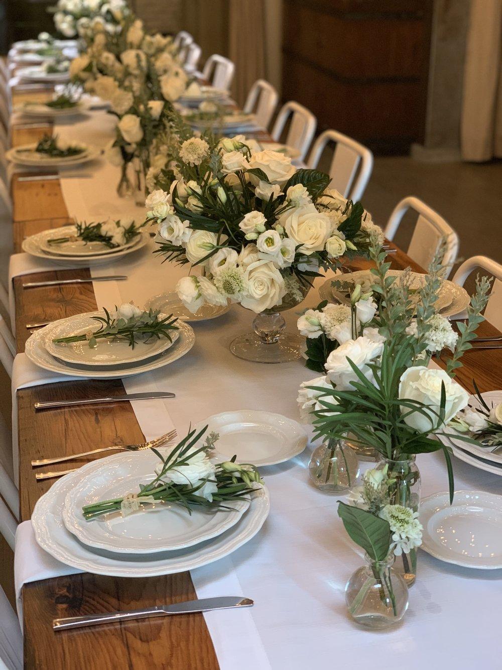 Floral Table Runner- B Floral