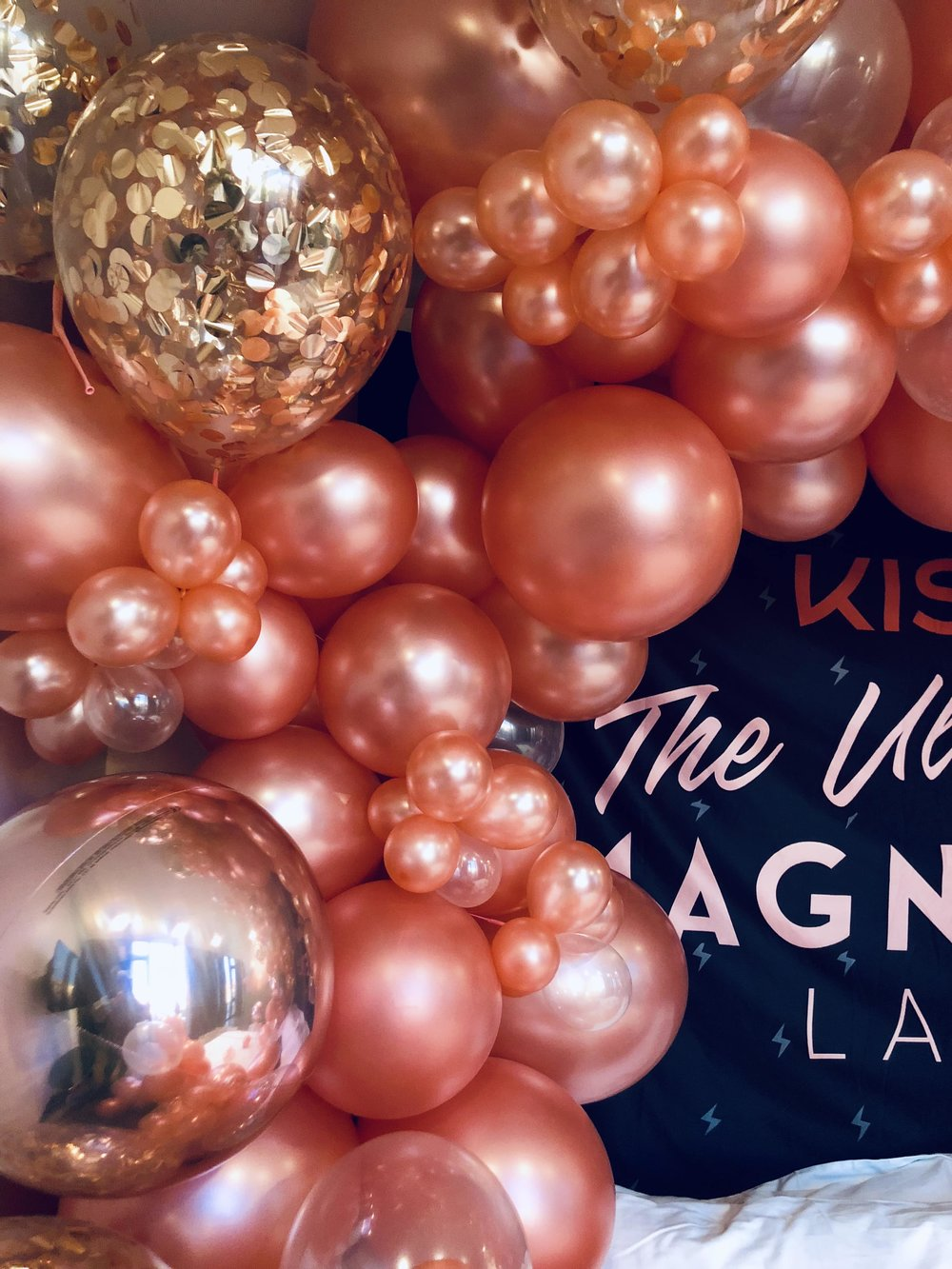 Balloon Installation for KISS Beauty- B Floral