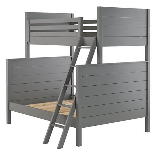 Uptown Bunk Bed (Grey)--Land of Nod