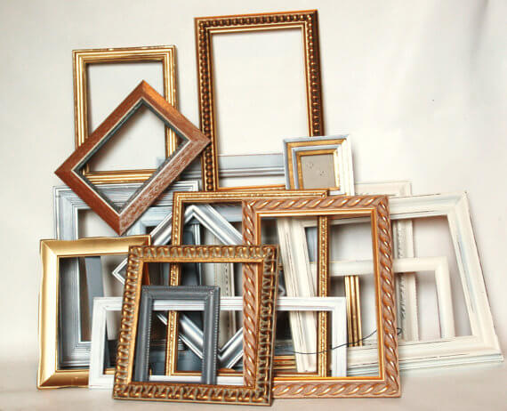 Set of 20 frames
