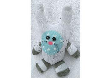 Star Bunny--Ballard Sock Critters