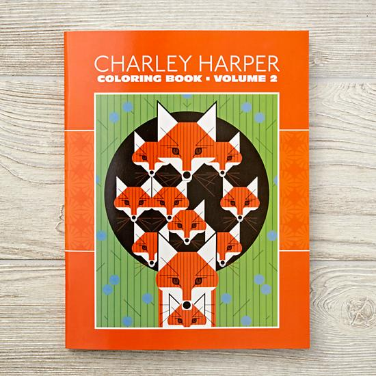 Charley Harper Coloring Book Vol. 2 $7.95