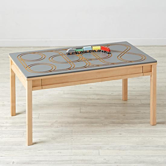 Metro Line Train Table Topper $89