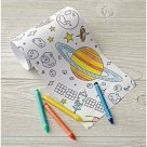 Outer Space Mini Coloring Roll $9.95