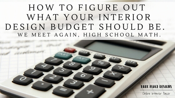 how to figure out what your interior design budget should be online interior decoration edesign jen pollard