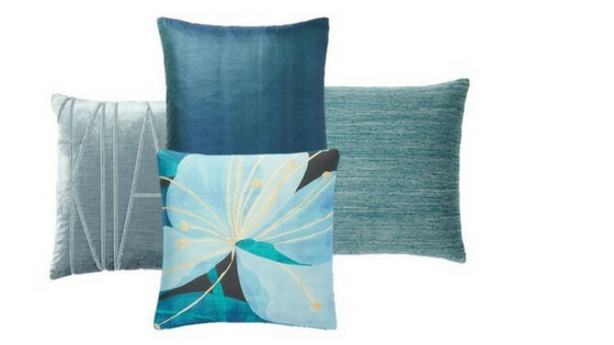 All pillows from West Elm