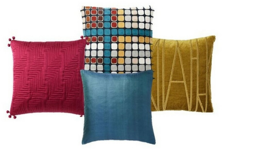 Pillows from West Elm