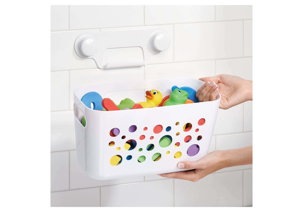 Get your essentials in the basket and keep it filled up. All you need right at your fingertips!  Target .