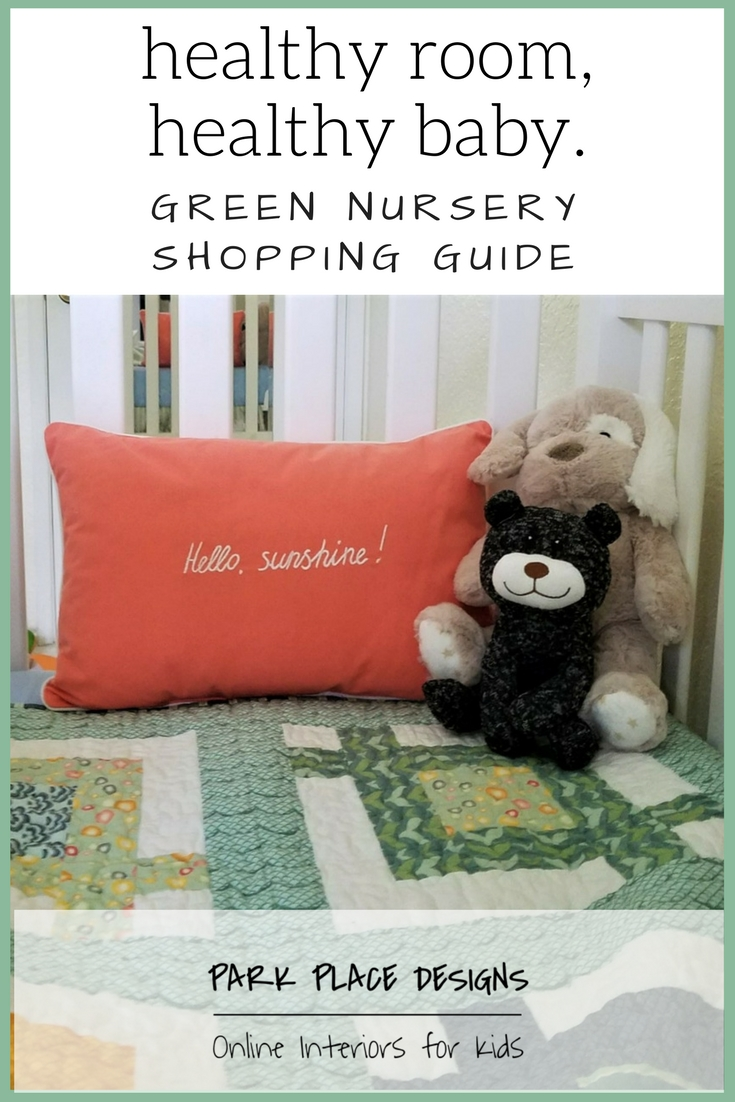 green nursery shopping guide online interior design for kids healthy baby