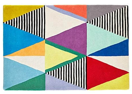 Color Theory Rug--Land of Nod