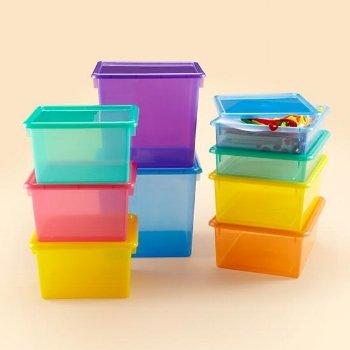 Cube Top Bins