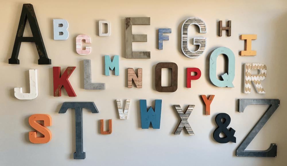 family room wall decor blog park place designs online kids interiors house of crazy alphabet