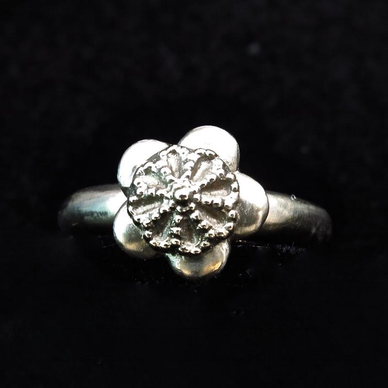 rose ring - brass