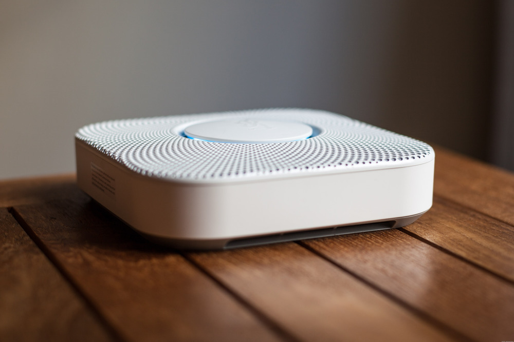 The Nest Protect is an internet-enabled smoke and CO detector. Image courtesy of  www.dailytech.com