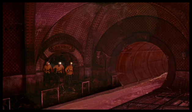 W.T.F. pink slime... in the EXACT subway I had just created....