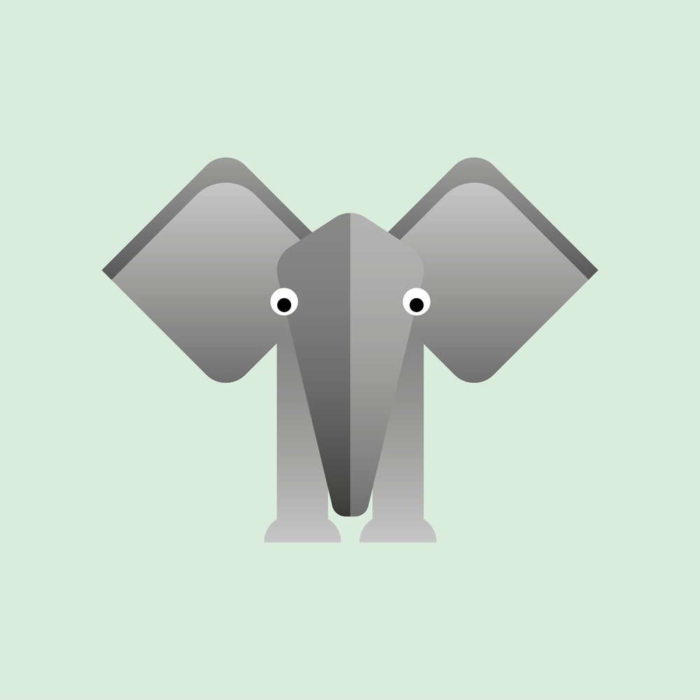Elephant_Graphic Design_Illustration_Childrens