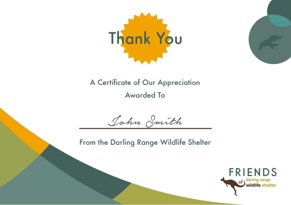 Certificate Design_TMK Graphics_Perth Australia