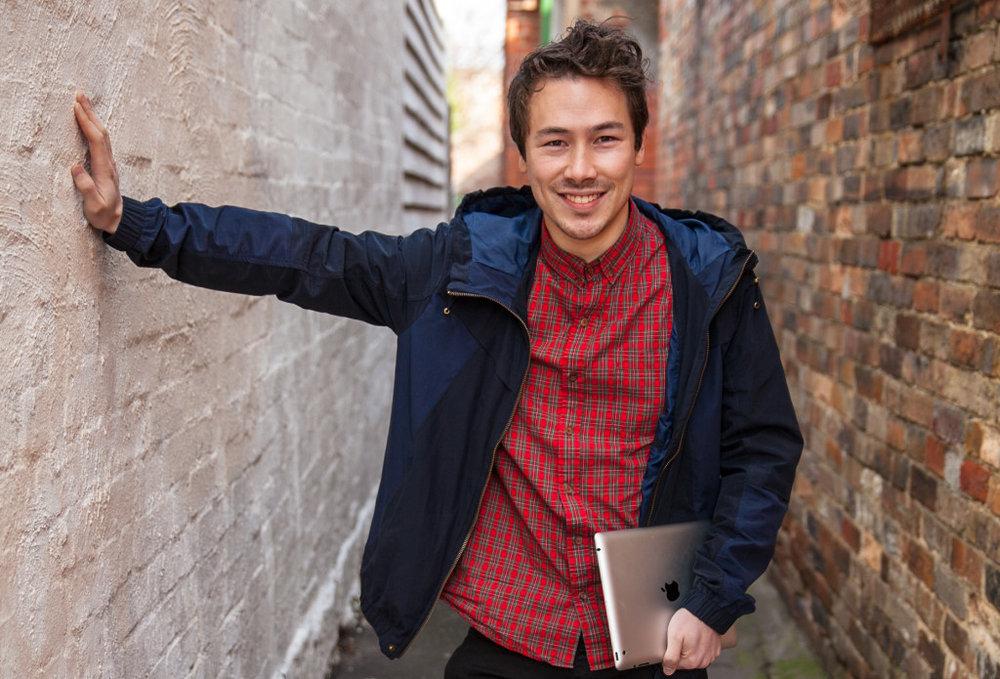 Melbourne inspiration Nathan Chan of foundr.Image credit - entrepreneurs-journey.com