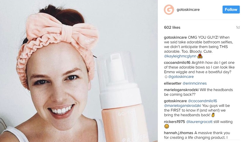 Go-To's message is real and natural, aided by micro-influencers. Image credit -  Go-To IG