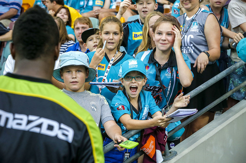 Capturing the next generation of fans, BBL is a marketing marvel. Image credit—Getty images