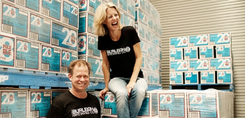 Peta Fielding, CEO of Burleigh Brewing. Image credit - danmurphys.com.au