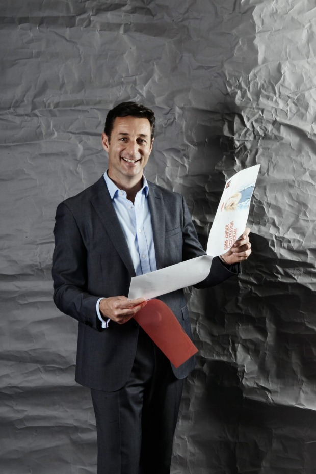 "NAB Andrew Knott of NAB ""The consumers are in control."" Image credit — AFR.com"