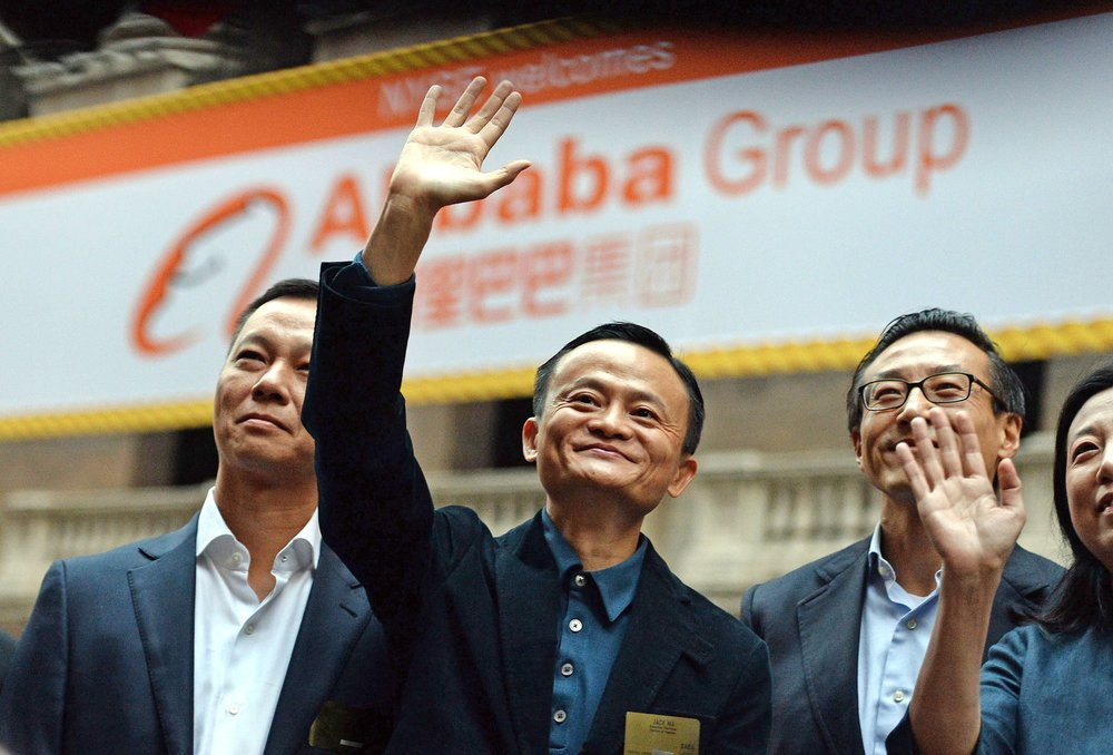 Jack Ma, founder and executive chairman of Alibaba Group. Image credit - time.com